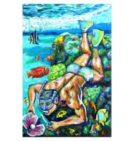 perlen taucher oil on canvas final 720px