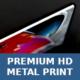 Premium HD-Metallkunstdruck