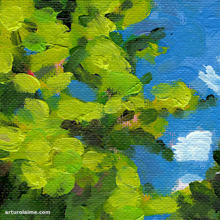 Hiker in the woods detail02