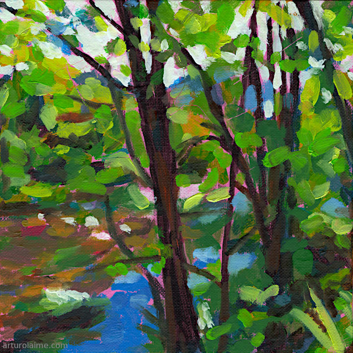 River bank in Weisenbach by Arturo Laime