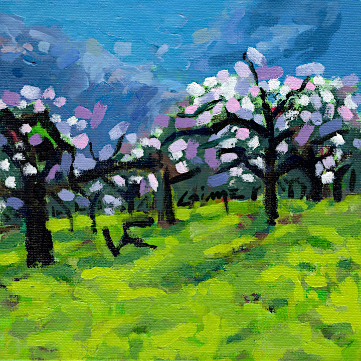 Apple trees blossoming by Arturo Laime 720px