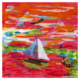 Frankfurter Harbour 1 artwork on paper by Arturo Laime